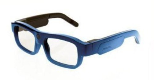 Xpand Cinema Youniversal B104lx1 Bluetooth/infra-red Rechargeable 3d Active Glasses - Blue