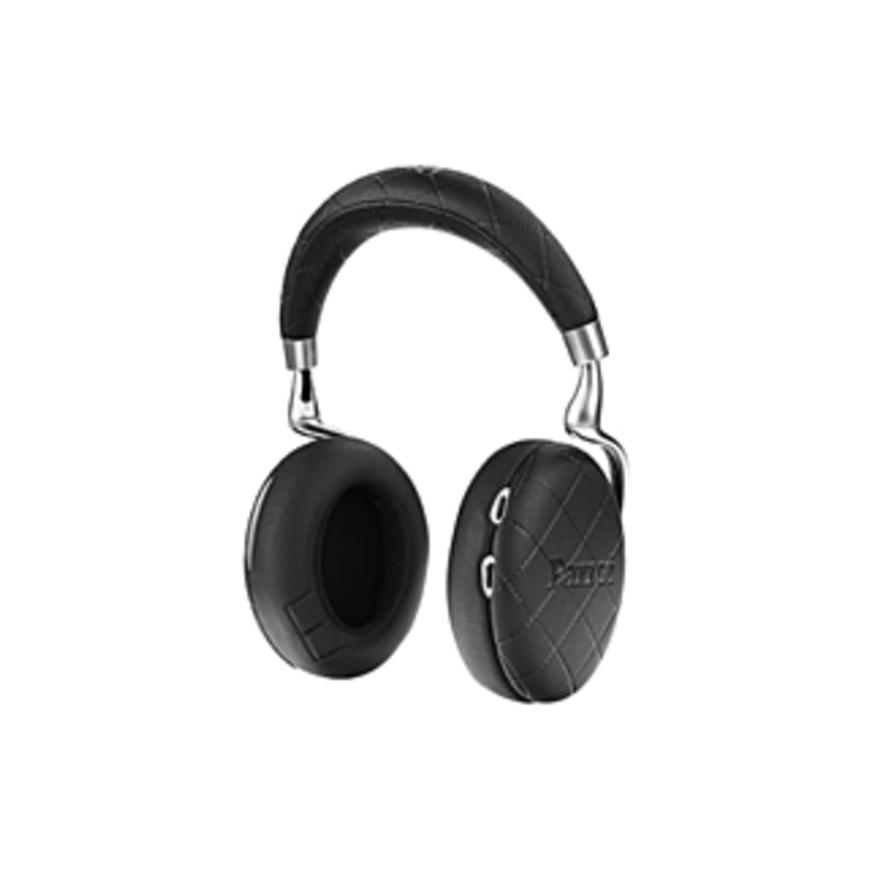 Parrot Zik Headset - Stereo - Black Overstitched - Mini-phone - Wired/wireless - Bluetooth - 20 Hz - 22 Khz - Over-the-head - Binaural - Circumaural -