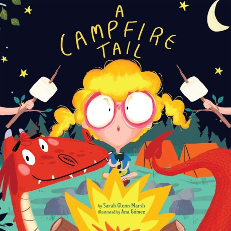 A Campfire Tail, Kids Hardcover Book