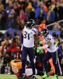 Kam Chancellor Seattle Seahawks 2014 Super Bowl XLVIII Action Photo (Size: 8