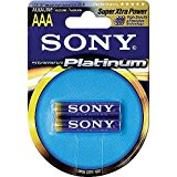 Sony AM4PT-B2A Platinum Alkaline Battery Blister Multipack (2-Pk)