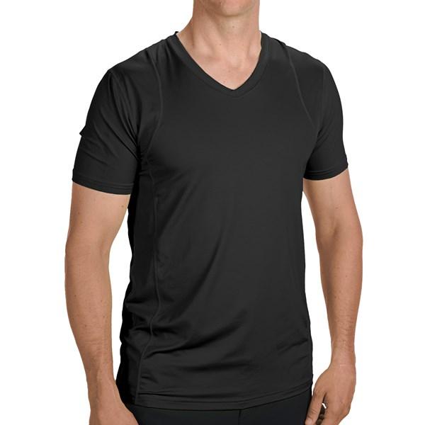 mens nylon tshirts ebay - 600×600