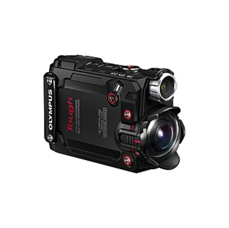 "Olympus Tough Digital Camcorder - 1.5"" Lcd - Bsi Cmos - 4k - Black - 16:9 - H.264, Mov - Electronic (is) - Hdmi - Usb - Microsd, Microsdhc, Microsdxc"