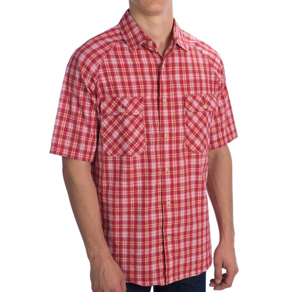 Woolrich Sycamore Shirt - Short Sleeve (For Men)