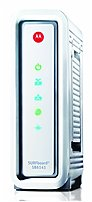 Motorola Surfboard Sb6141 Docsis 3.0 Cable Modem - 444.9 Mbps - 10/100/1000base-t - Gigabit Ethernet - White