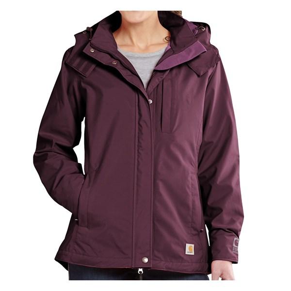 Carhartt Cascade Rain Jacket - Waterproof (For Women)