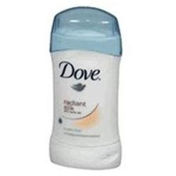 Dove Anti Perspirant & Deodorant Invisible Solid, Radiant Silk - 1.6 Oz
