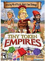 The ValuSoft Cosmi 755142734312 73431 Tiny Tokens Empire is an amazing mix   it's a puzzle game, Match 3 game  Tokens  and turn based strategy game