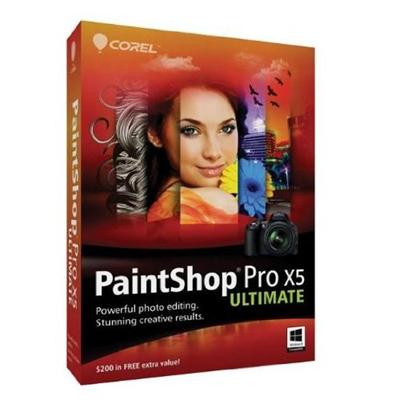 Corel Esdpspx5ulmlam Paintshop Pro X5 Ultimate Windows (electronic Software Download Version)