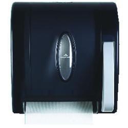 Georgia Pacific/Ft James Roll Hand Towel Dispensor, 8 Push-Paddle, Smoke