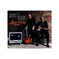 Andy T-Nick Nixon Band - Livin' It Up (Music CD)