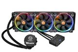Thermaltake CL-W108-PL12SW-A 3.0 Riing RGB 360 AIO Water CPU Cooler with 120mm Powerful High Static Pressure Fan