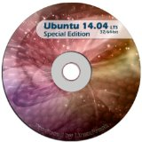 Ubuntu Linux 14.04 64 and 32 Bit Desktop Live DVD NEWEST LTS EDITION with Extras