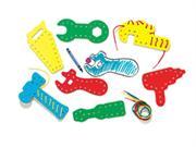 Lacing & Tracing Tools 7/pk Age 3-7