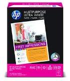 HP Multipurpose Ultra White, 20lb, 8 1/2