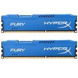 Kingston HyperX FURY 16GB Kit (2x8GB) 1866MHz DDR3 CL10 DIMM - Blue (HX318C10FK2/16)