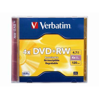 Verbatim 94520 Datalifeplus - Dvd rw - 4.7 Gb 4x - Jewel Case