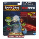Angry Birds Star Wars Telepods: Jedi vs Sith or Rebels vs. Villains (Characters may vary)