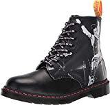 Dr. Martens Unisex 1460 Sex Pistols Collab Black Backhand Straw Grain Leather 12 M UK