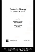This reference evaluates and describes the latest strategies for hormone suppression and blockade in the management of early and advanced stage breast cancer and explores the effects of tamoxifen, selective estrogen receptor modulators (SERMs), aromatase inhibitors, and their combination on both breast cancers and normal tissues