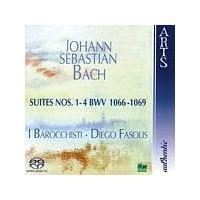 Johann Sebastian Bach - Suites Nos. 1 - 4 (Fasolis, I Barocchisti) [SACD/CD Hybrid] (Music CD)