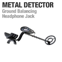 Bounty Hunter Tracker IV Gold Digger Metal Detector