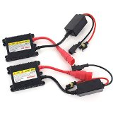 DEW 2PC Set Universal DC 12V 35W Slim Ballast HID Replacement Conversion Kit for Xenon Light Lamp High Intensity Discharge Light For H1 H3 H4 H7 H8 H9 H1 H11 H13 HB1 HB3 HB4 HB5