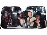 Plasticolor Star Wars Accordion Sunshade