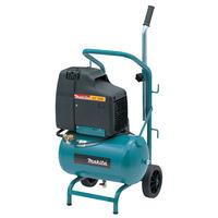 Makita Electric Air Compressor with 20 Litre Tank & Wheels 2hp 240v