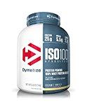 Dymatize Nutrition ISO 100 Whey Protein Powder, Gourmet Vanilla, 5 Pound