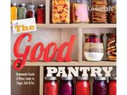 The Good Pantry Binding: Paperback Publisher: Oxmoor House Publish Date: 2015/05/05 Synopsis: A collection of recipes for baking, cereal mixes, pizza dough, condiments, snacks and much more includes recipe variations, as well as recipe flags that clearly note common restrictions and allergens such as gluten-free, dairy-free, egg-free and nut-free options