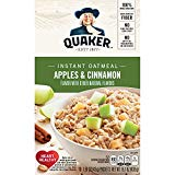 Quaker Instant Oatmeal, Apples and Cinnamon, 10 ct