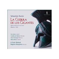 Sebastián Durón: La Guerra de los Gigantes (Music CD)