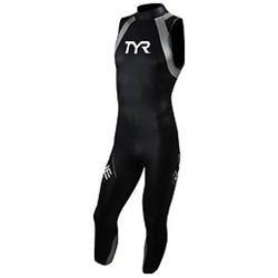 TYR Hurricane C1 Sleeveless Wetsuit Black Large