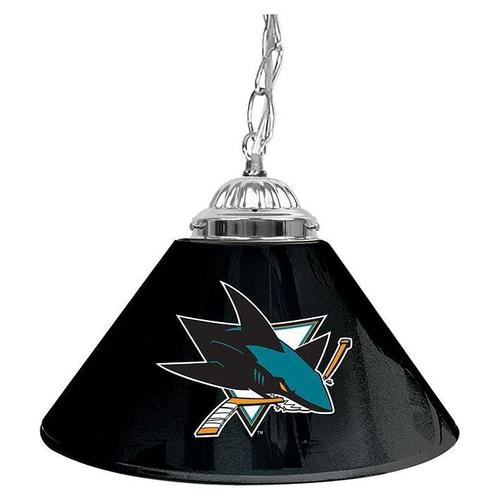 NHL San Jose Sharks 14 Single Shade Bar Lamp