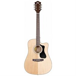 Guild D-140CE GAD Series Dreadnought Cutaway Acoustic-Electric Guitar - Natural