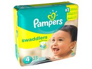 Pampers Swaddlers Diapers Size 4 23 Ea