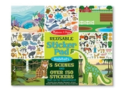 Melissa & Doug Habitat Reusable Sticker Pad (150  Stickers)