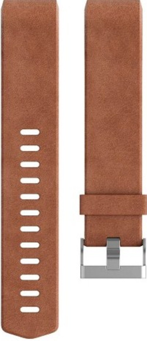 Fitbit Fb160lbbrls Luxe Leather Band For Charge 2 Activity Tracker - Large - Cognac