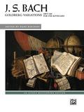 Goldberg Variations, Bwv 988: Advanced Piano Solo