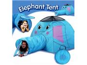 Elephant Play Tent And Tunnel- Indoor/outdoor Collapsible Play Tent