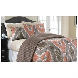 6 pc Comforter/Coverlet Set Sheila