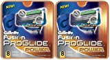 Gillette Fusion ProGlide Power Razor Replacement Cartridge-8 ct, 2 pk