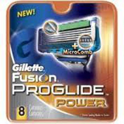 Gillette Fusion ProGlide Power - Blades (cartridges) 8 pack