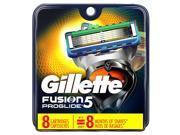 Gillette Fusion Proglide Powder 8 Refill Blades