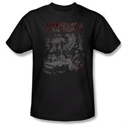 Mens VAMPIRELLA Short Sleeve HOME SWEET HOMES Small T-Shirt Tee