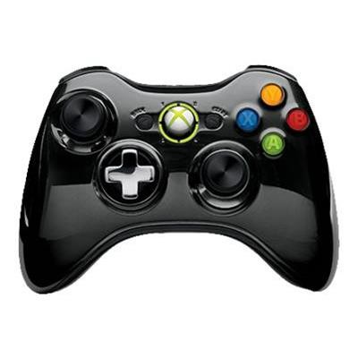 Microsoft 43g-00058 Xbox 360 Special Edition Chrome Series Wireless Controller - Game Pad - Wireless - 2.4 Ghz