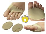 HappyFeet Premium Ball of Foot Metatarsal Cushions - Forefoot, Arthritis, Tendonitis, Diabetic Foot Pain