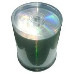 200 Grade A 52x CD-R 80min 700MB Shiny Silver