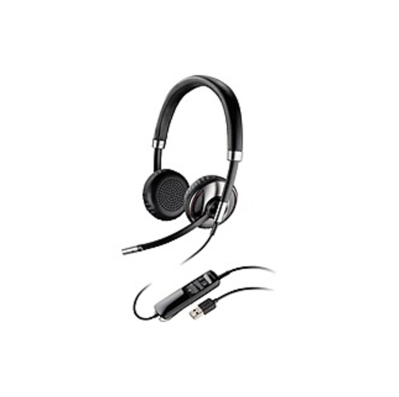 Plantronics Blackwire C720-m Headset - Stereo - Usb - Wired/wireless - Bluetooth - Over-the-head - Binaural - Supra-aural - Noise Cancelling Microphon